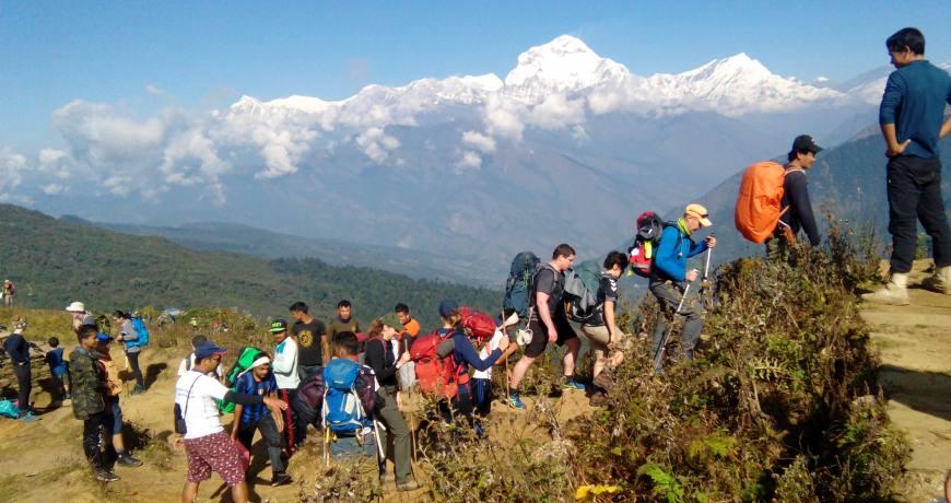Annapurna Poon Hill Dhaulagiri Trek