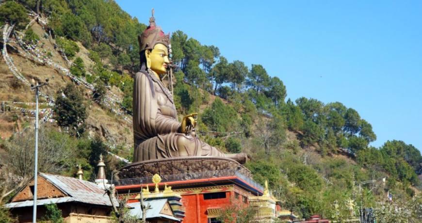 Statue of Guru Rinpoche, Pharping
