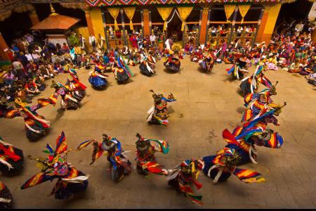 Bhutan Kurjey Festival Tour