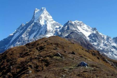 Mardi Himal climbing