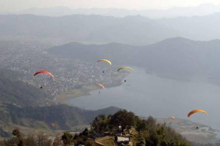 Paragliding Nepal